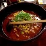 当り鉢ラーメン - 地獄麺(赤鬼)