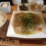 ゆるりん亭 - ランチの野菜あんかけ
