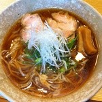 山崎麺二郎 - ラーメン 並