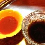 みをつくし - 醤油と梅肉で…。