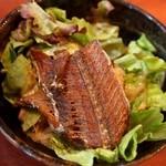 たちじゅう園 - サラダは太刀魚の骨せんべい入り