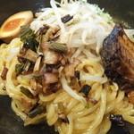 麺屋 帝旺 - 辛し油そばアップ