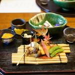 雑司が谷 寛 - 一の膳、なんとこれがランチ!料理はまだまだ続きます!