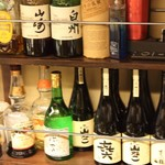 Wan - お酒も豊富に取り揃えております。