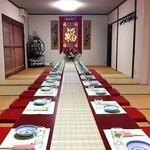 京華亭 - ◆歓迎会・送迎会・お誕生日会・女子会など、各種ご宴会にピッタリの2F個室!ご予約はお早めにお願い致します。