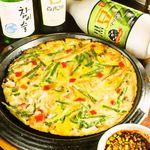 韓国料理マニト - 韓国料理の定番、海鮮チヂミ♪