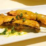 ボデガ サンタ リタ - イベリコ豚ホホ肉のモーロ風 フォアグラ添え(2013/10月撮影)