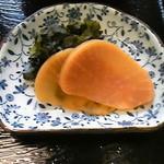 大巳鮨 - 日替わりのお漬物