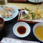 天ぷら食堂 魚徳 - 料理写真: