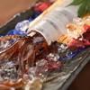 魚の飯 - 料理写真:<名物>泳ぎいかのお造り
