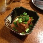 Kushikatsudengana - 131030 小鉢(厚揚げタレ和え)