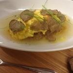 リナトキッチン - サマートリュフの和風オムライス