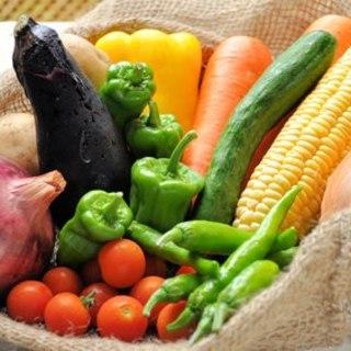 食材にこだわりをもち、無農薬野菜を使用