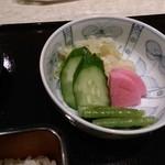 味乃宮川 - おしんこ