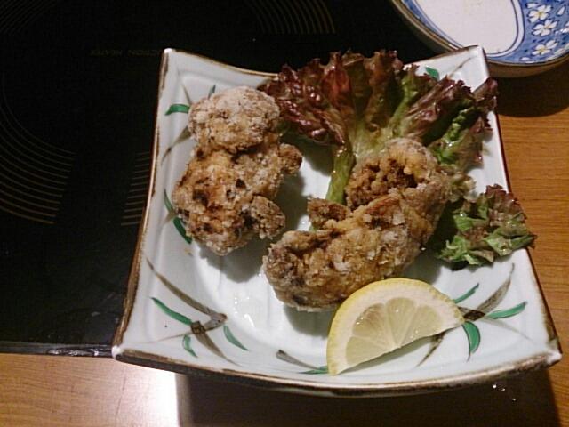 鬼無里村の料理の写真