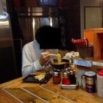 麺童虎徹 - 201310 虎徹 店内⇒