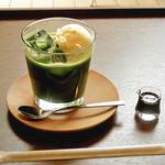 幡・INOUE - 抹茶フロート (500円)