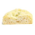 ブーランジェリー パリゴ - 3種チーズのフォカッチャの断面 '13 10月下旬