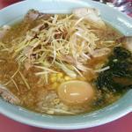 ラーメンショップ - 料理写真:ネギ味噌チャーシュー+味玉