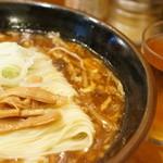ラーメン龍太郎 - 龍麺のアップ
