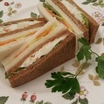 22182550 - サンドイッチを作ってみました☆