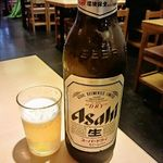 浅草 ときわ食堂 - 瓶ビール(大瓶 550円)