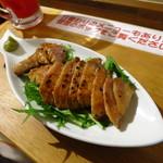 梅澤燻製店 - 三崎マグロレア焼きステーキ500円
