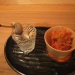 Sushi Dining 旬 - つき出し@400円