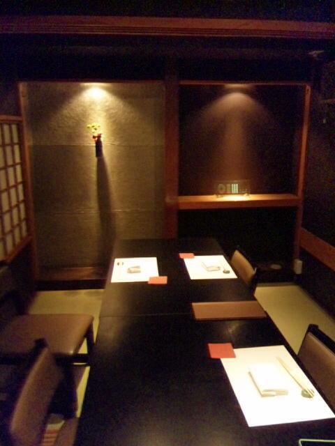 日本橋OIKAWA - 8名まで入れそうな個室で