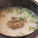 丸喜 - 定番のスープも御用意♪