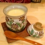 焼酎ぎゃらりぃ さわ - 冬季限定茶わん蒸し(本日のオススメ一品より)