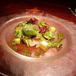 CONCA - ヒラメと水茄子のサラダ