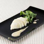 チーズ de トマト - 京都産 西京味噌につけたモッツァレラチーズ