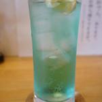 うみひこ やまひこ - サワー、うみひこブルー(2013.10.31)