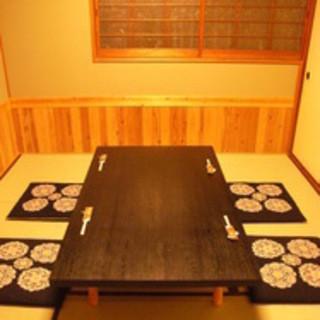 畳の個室のお座敷もご用意しています。