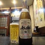 餃子菜館 大八 - 中ビン