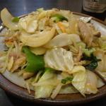 餃子菜館 大八 - 野菜炒め