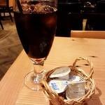 ラ ココリコ - ランチドリンクのアイスコーヒー