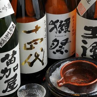 ビール・地酒・焼酎が旨い!