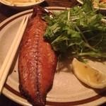 あなぐま - 鯖の燻製。美味しかったー!