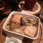楓 - 豆腐とキノコのアヒージョ