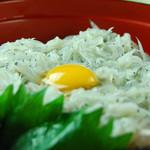 い川 - 料理写真:絶品!しらす丼