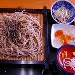 そばハウス 龍亭 - 料理写真:龍亭のざるそば