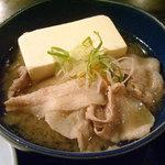 大八 - 「焼魚定食」豚汁風肉豆腐