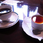 レストラン ローマの太陽 - プリンとコーヒー
