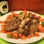 サバンナ - 2013.10 ケニア風マトンの焼き肉(1,500円)