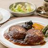 カフェギャラリー縁 - 料理写真:ランチで人気!豆腐ハンバーグ♪