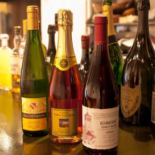 ソムリエがご提案する稀少ワインをお楽しみ頂けます