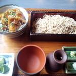 22204955 - ランチセット(竜田揚げミニ丼)