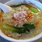 豚珍館 - 料理写真:酸辛麺(サンラーメン)800円
